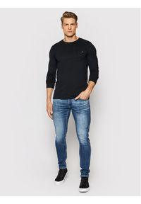 Superdry Longsleeve Vintage M6010119A Czarny Regular Fit. Kolor: czarny. Długość rękawa: długi rękaw. Styl: vintage