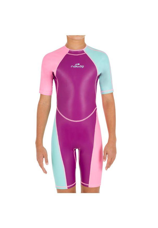 NABAIJI - Krótki Kombinezon Pływacki Kloupi Dla Dzieci. Materiał: poliester, materiał, elastan