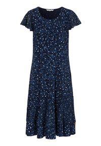 Sukienka mini Cellbes w kwiaty, z falbankami