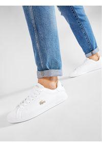 Lacoste Sneakersy Graduate 0721 1 Sma 7-41SMA001121G Biały. Kolor: biały