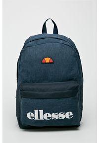 Niebieski plecak Ellesse z nadrukiem