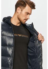 Niebieska kurtka EA7 Emporio Armani na co dzień, casualowa #6