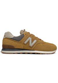 New Balance ML574SOI. Materiał: skóra, syntetyk, zamsz, materiał. Model: New Balance 574. Sport: turystyka piesza
