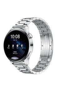 HUAWEI - Smartwatch Huawei Watch 3 Elite LTE. Rodzaj zegarka: smartwatch. Materiał: skóra, materiał. Styl: sportowy, casual