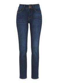 Niebieskie jeansy Cellbes z podwyższonym stanem