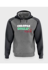 MegaKoszulki - Bluza męska dwukolorowa Chłopak Idealnej Dziewczyny