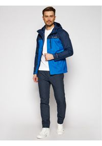 Niebieska kurtka przejściowa columbia