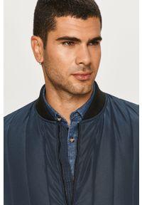 Niebieska kurtka Tailored & Originals bez kaptura, casualowa