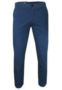 Niebieskie spodnie Verrs na co dzień, casualowe