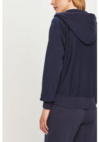 Niebieska bluza rozpinana Polo Ralph Lauren na co dzień, gładkie, casualowa, polo