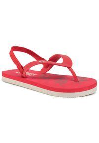 Czerwone sandały Jack Wolfskin