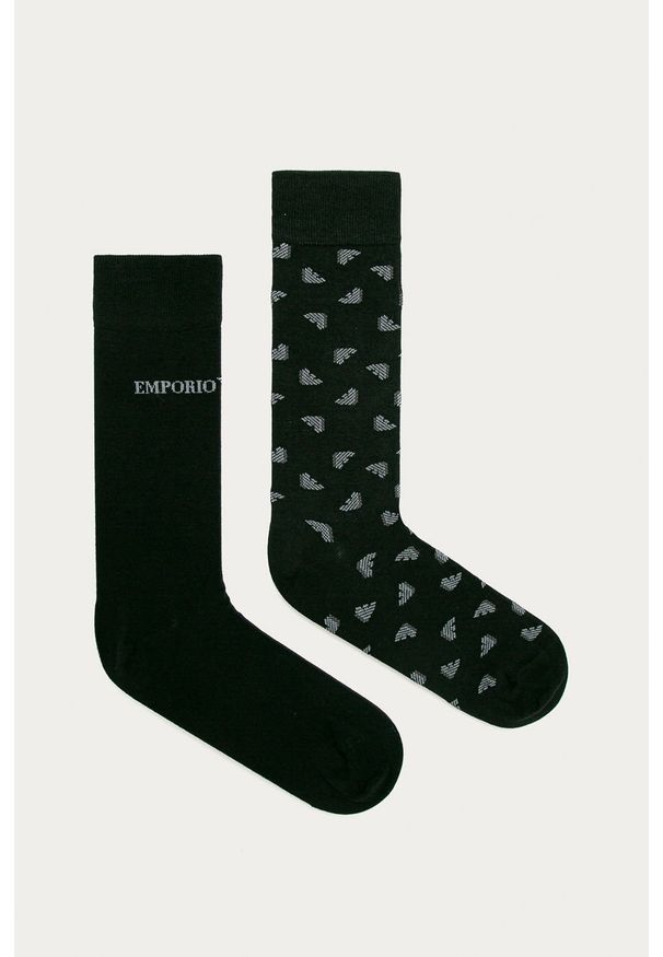 Czarne skarpetki Emporio Armani