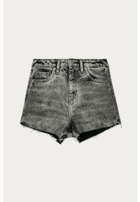 Szare spodenki Pepe Jeans casualowe, na co dzień