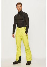 Protest - Spodnie. Okazja: na co dzień. Kolor: zielony. Materiał: materiał. Styl: casual #4