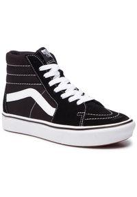 Vans - Sneakersy VANS - Comfycush Sk8-Hi VN0A3WMBVNE1 (Classic) Black/True Whit. Okazja: na co dzień. Kolor: czarny. Materiał: zamsz, skóra, materiał. Szerokość cholewki: normalna. Styl: casual. Model: Vans Classic, Vans SK8