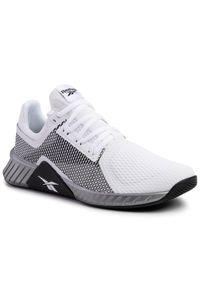 Białe buty treningowe Reebok z cholewką