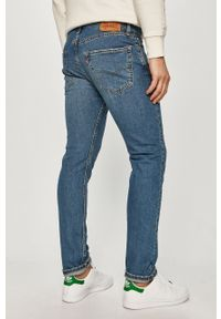 Niebieskie jeansy Levi's® biznesowe, na spotkanie biznesowe, gładkie