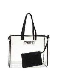 Biała torebka Pollini