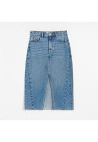 Niebieska spódnica Reserved