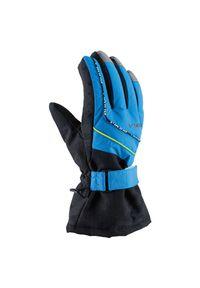 Rękawice narciarskie dla dzieci Viking Mate 120193322. Materiał: włókno, materiał, syntetyk. Sezon: zima. Sport: narciarstwo