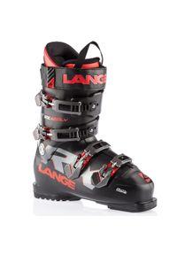LANGE - Buty narciarskie męskie RX 100. Zapięcie: klamry. Kolor: czarny, wielokolorowy, czerwony. Materiał: materiał. Sport: narciarstwo
