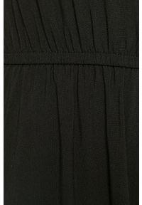 Czarna sukienka only na co dzień, prosta