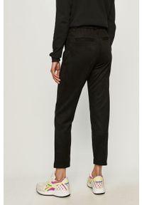 Czarne spodnie materiałowe only casualowe, na co dzień