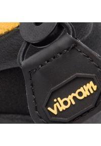 Czarne buty do biegania Vibram Fivefingers na płaskiej podeszwie, z cholewką, Vibram FiveFingers #7