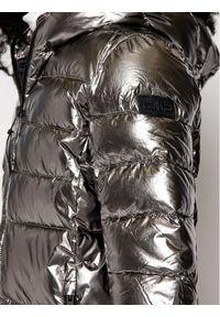 CMP Kurtka puchowa 30K3506 Srebrny Regular Fit. Kolor: srebrny. Materiał: puch