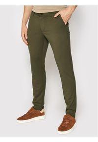 Only & Sons Spodnie materiałowe Mark 22010209 Zielony Slim Fit. Kolor: zielony. Materiał: materiał
