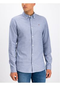 Niebieska koszula casual Tommy Jeans