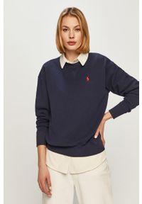 Niebieska bluza Polo Ralph Lauren polo, casualowa, na co dzień
