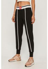 Czarna piżama Calvin Klein Underwear z aplikacjami