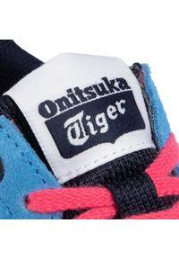 Niebieskie półbuty Onitsuka Tiger na co dzień, z cholewką, klasyczne