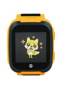 Pomarańczowy zegarek FOREVER smartwatch