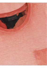 Vistula T-Shirt Davies XA1037 Pomarańczowy Regular Fit. Kolor: pomarańczowy