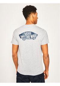 Vans T-Shirt Otw Classic Athletic VN0A2YQVKOO1 Szary Slim Fit. Kolor: szary
