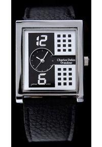 Biały zegarek Charles Delon