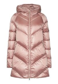 Różowa kurtka puchowa Liu Jo