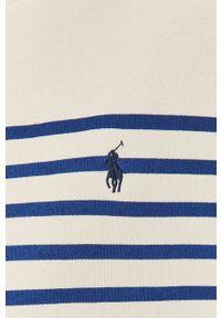 Biała bluza Polo Ralph Lauren na co dzień, z długim rękawem