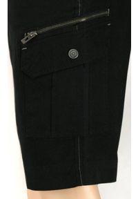Czarne spodnie Gustaff na lato, krótkie