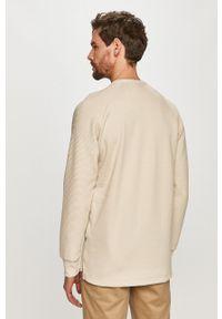 G-Star RAW - G-Star Raw - Bluza bawełniana. Okazja: na co dzień. Kolor: beżowy. Materiał: bawełna. Wzór: gładki. Styl: casual