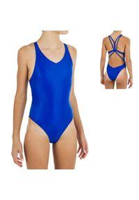 NABAIJI - Strój Jednoczęściowy Do Pływania Synchronicznego Dla Dzieci. Materiał: poliamid, materiał, poliester