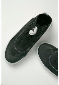 Adidas by Stella McCartney - adidas by Stella McCartney - Buty aSMC Treino Mid. Nosek buta: okrągły. Zapięcie: sznurówki. Kolor: czarny. Materiał: guma. Model: Adidas Stella McCartney