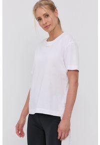 Quiksilver - T-shirt. Kolor: biały. Materiał: bawełna