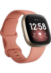 FITBIT - Smartwatch Fitbit Versa 3 Różowy (4061856797816). Rodzaj zegarka: smartwatch. Kolor: różowy