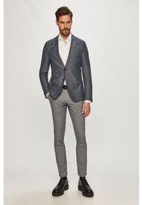Baldessarini - Spodnie. Kolor: niebieski. Materiał: tkanina