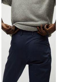 Niebieskie spodnie Mango Man #7