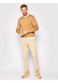 Brązowy sweter klasyczny Digel