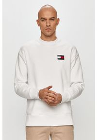 Biała bluza nierozpinana Tommy Jeans bez kaptura